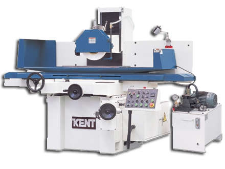KENT Hydraulic Surface Grinder - Table Moving